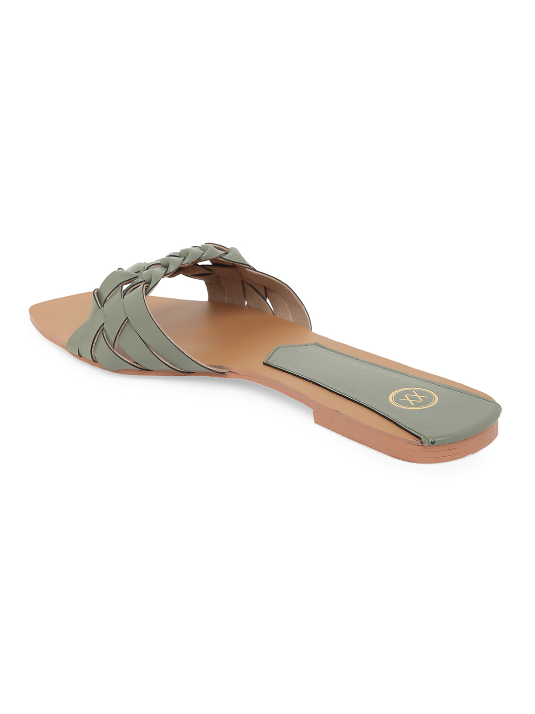 Bellies and Flats-Green Twists In Style Flats4