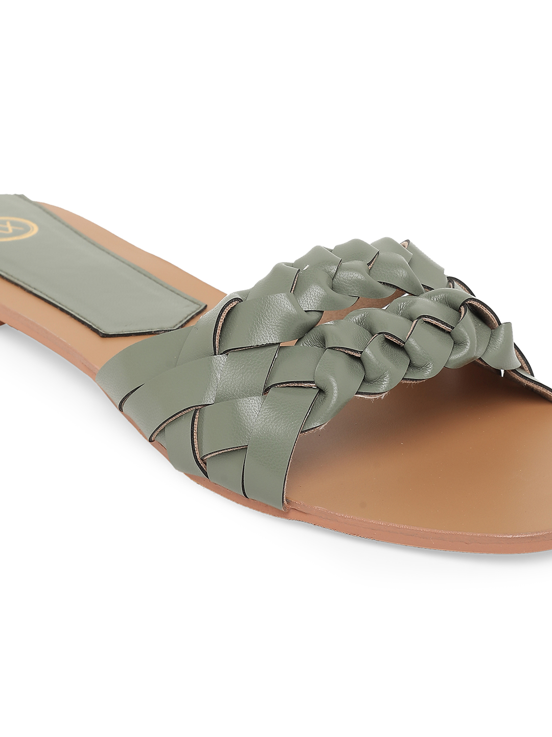 Bellies and Flats-Green Twists In Style Flats7