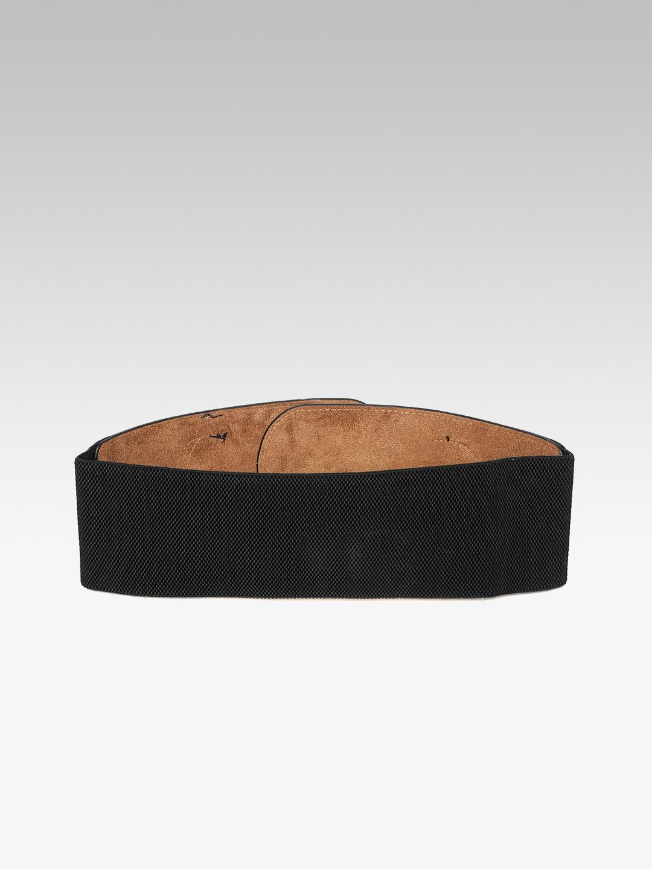 Belts-Fashion Fiesta Black Waist Belt2