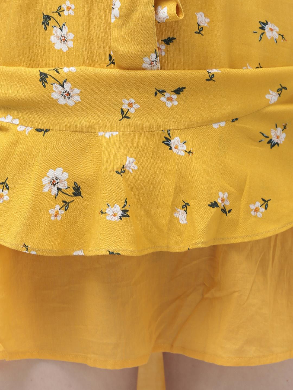 Dresses-Floral Vibrance Yellow Dress4