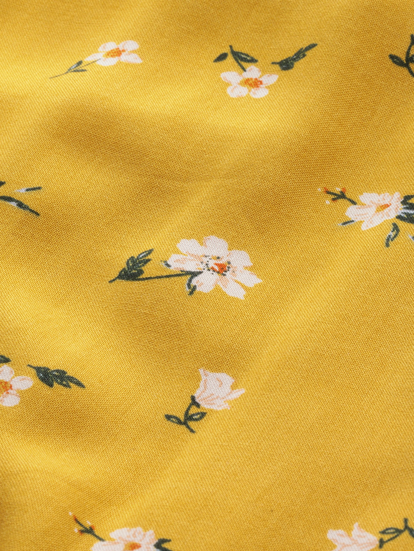 Dresses-Floral Vibrance Yellow Dress7
