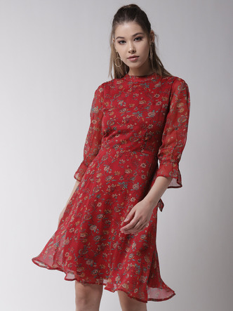 Dresses-Girl On Fire Floral Dress1