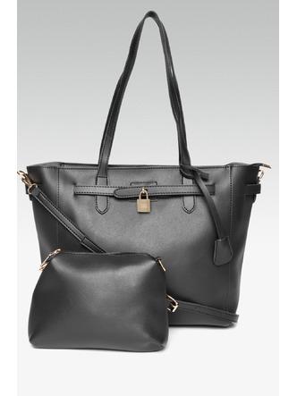 Hand Bags-Going To Work Black Handbag3