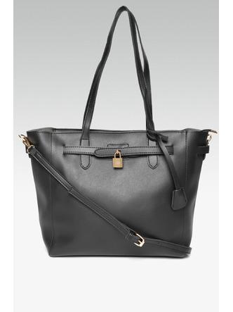 Hand Bags-Going To Work Black Handbag6