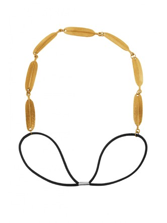Hair Accessories-Gold Amazon Jungle Elastic Hairband1