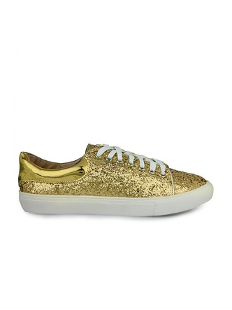 Sneakers and Loafers-Gold Rush Sequins Sneakers6