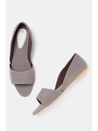 Bellies and Flats-Grey Keeping It Chic Flats4