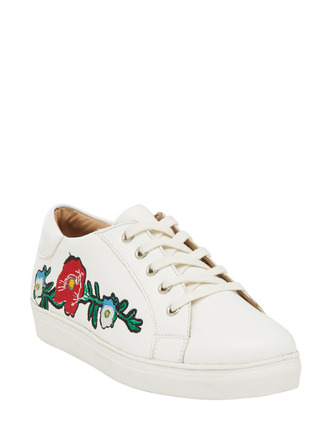 Sneakers and Loafers-Growing On Me Floral Sneakers3