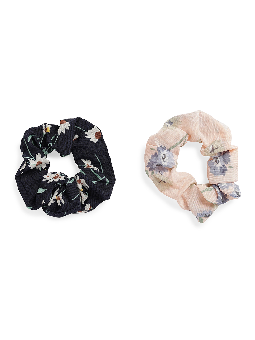 Hair Accessories-Be Out In Bloom Scrunchy Set1