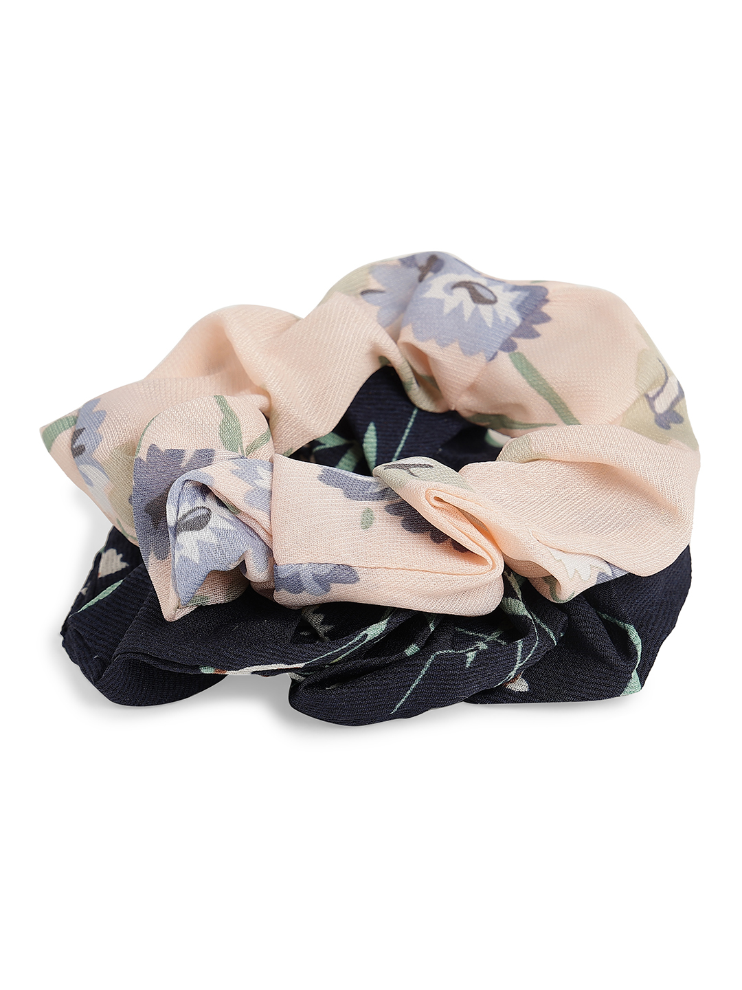 Hair Accessories-Be Out In Bloom Scrunchy Set5