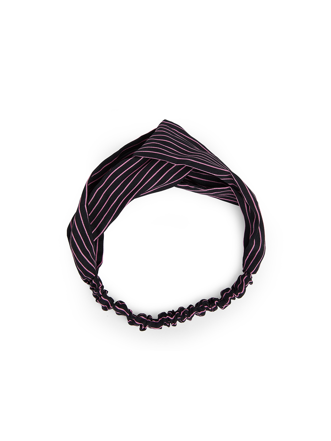 Hair Accessories-Black Simply Striped Hairband1