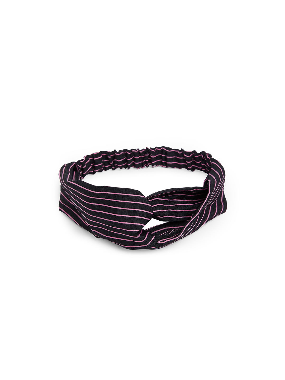 Hair Accessories-Black Simply Striped Hairband2