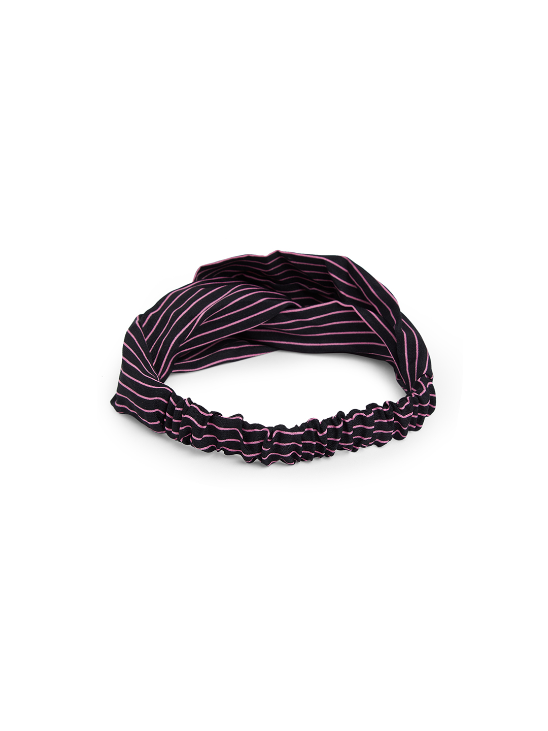 Hair Accessories-Black Simply Striped Hairband3