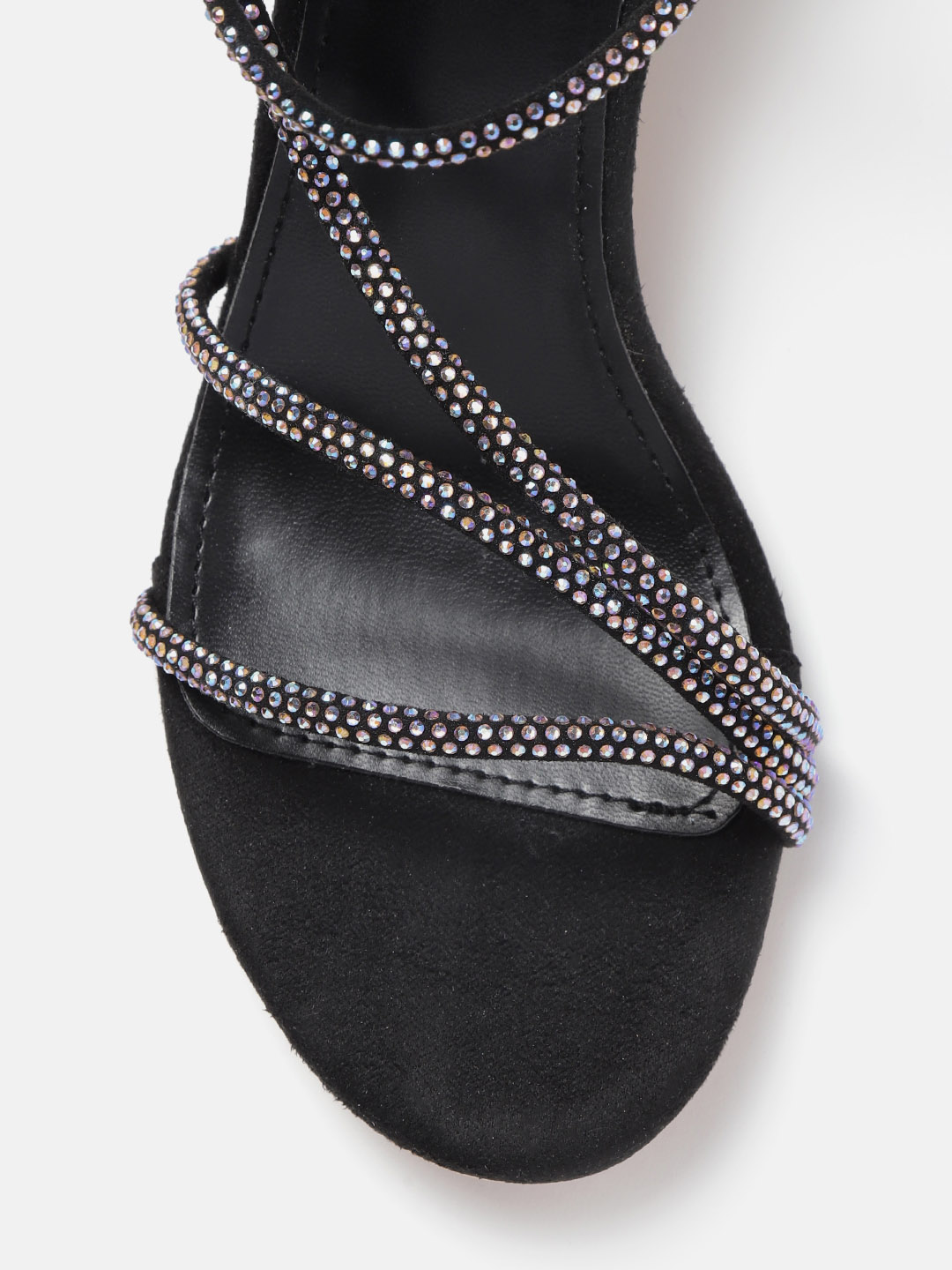 Heels and Wedges-I Fancy You Studded Black Heels3