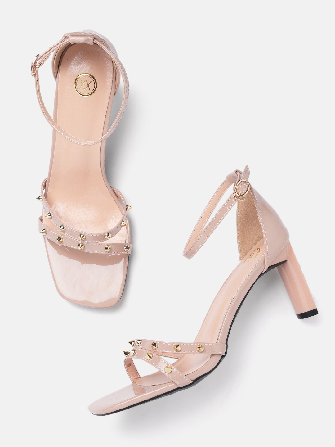 Heels and Wedges-Pink Stud Me Senseless Heels2