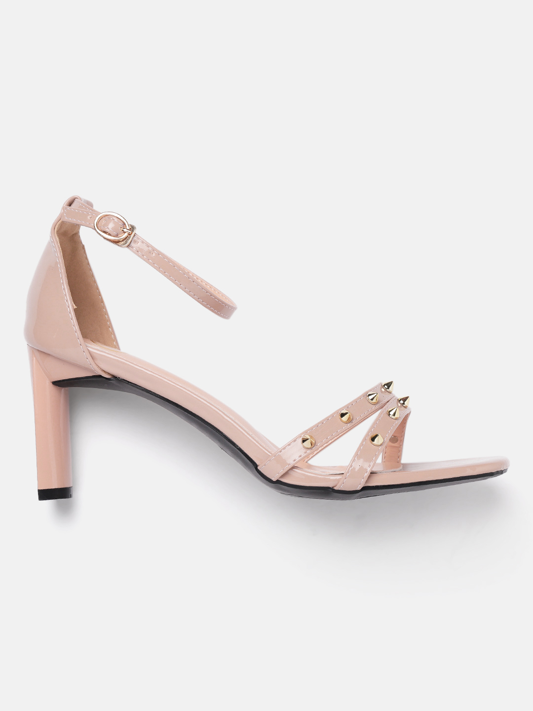 Heels and Wedges-Pink Stud Me Senseless Heels3