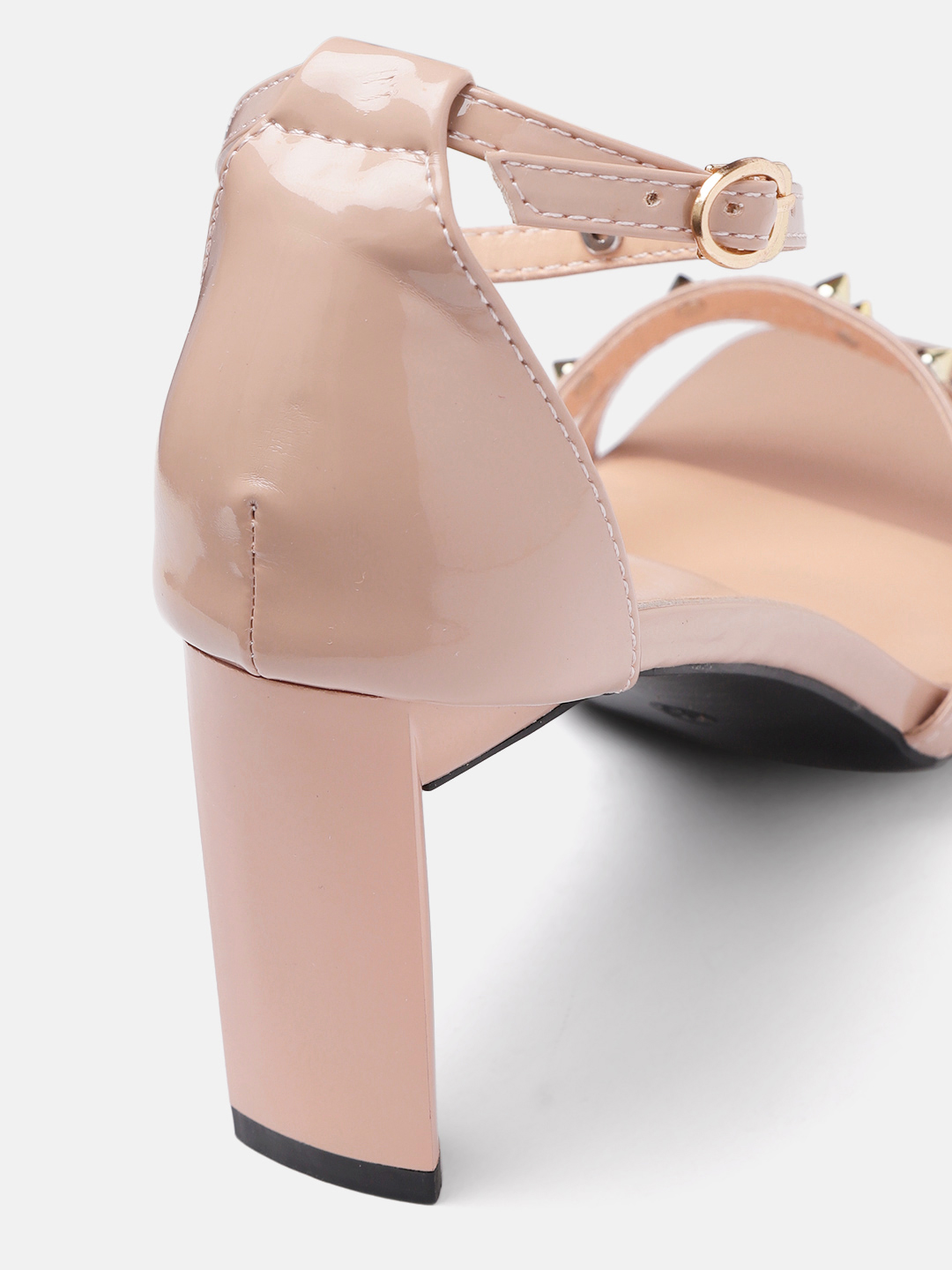Heels and Wedges-Pink Stud Me Senseless Heels4