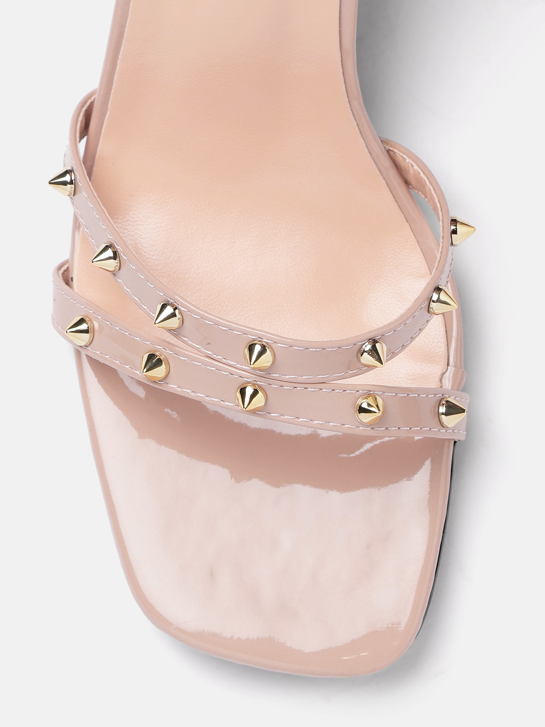 Heels and Wedges-Pink Stud Me Senseless Heels5