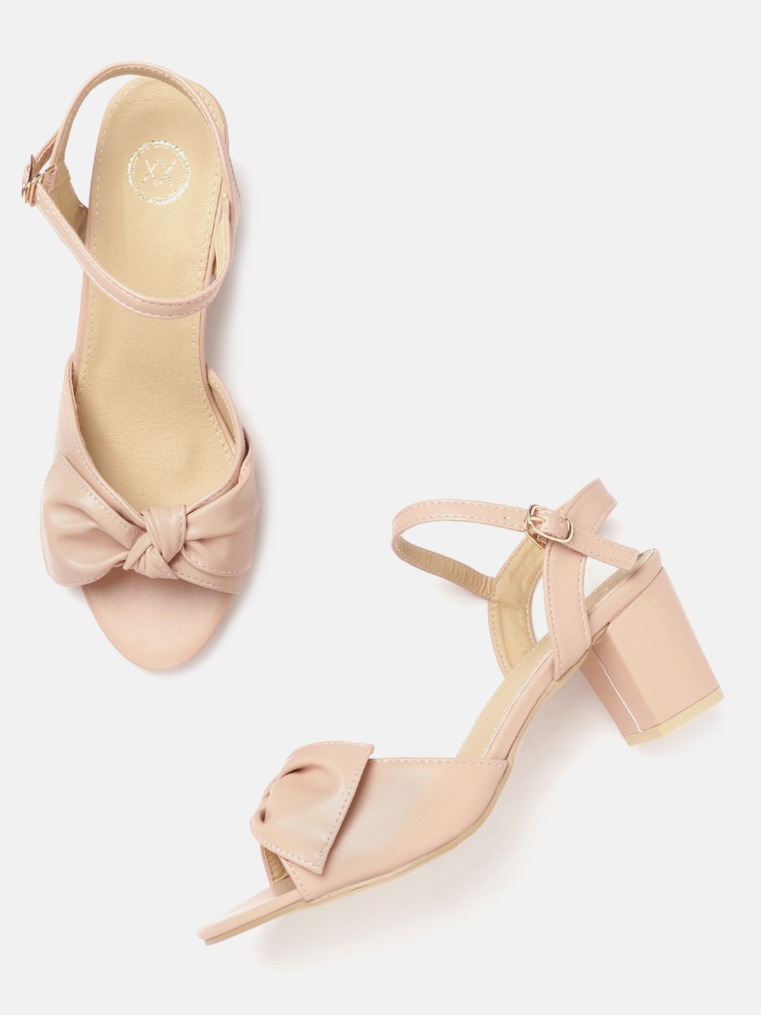 Heels and Wedges-Bowing To Style Block Heels2