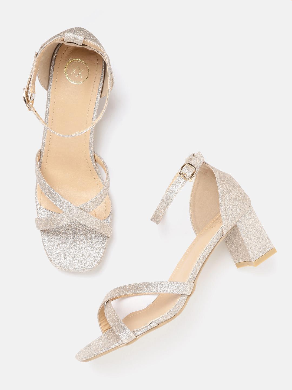 Heels and Wedges-Glitter On My Mind Block Heels1