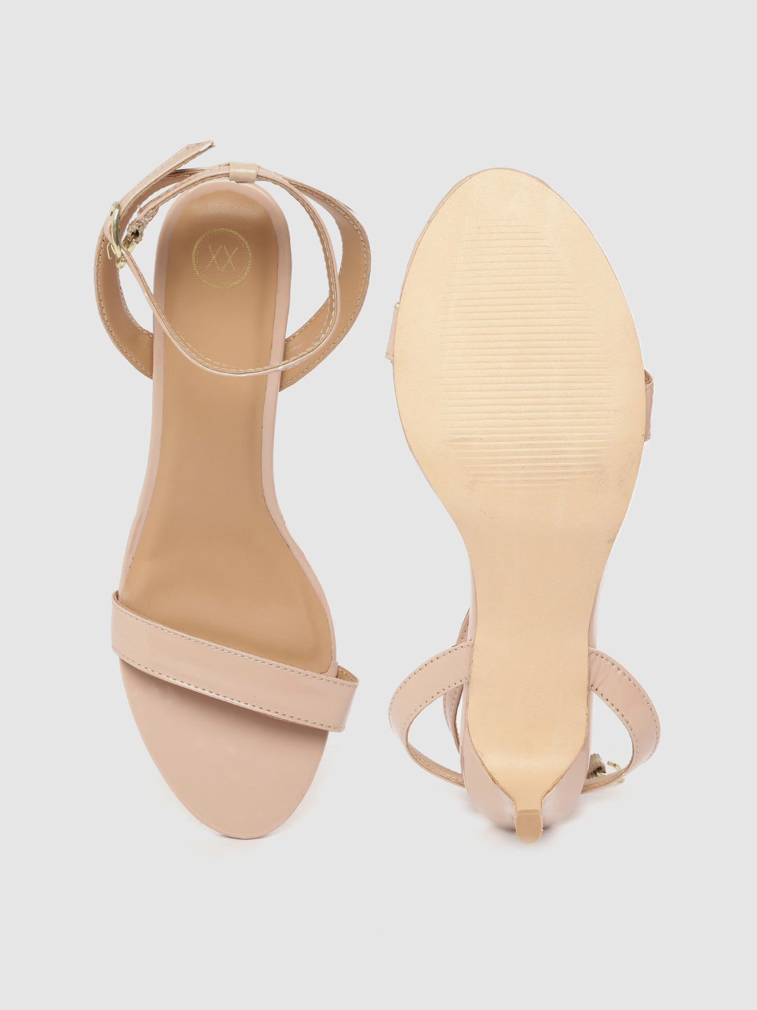 Heels and Wedges-On The Rise Blush Patent Heels2