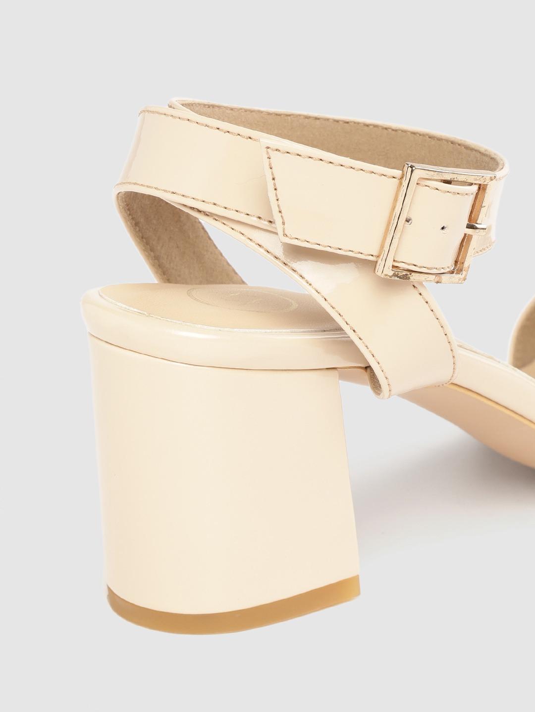 Heels and Wedges-Buckle It Down Nude Heels6
