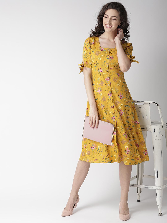 Dresses-Hello Floral Sunshine Midi Dress4