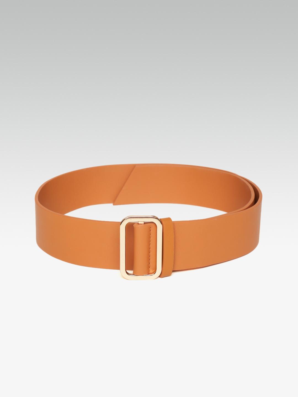 Belts-Instant Glamour Brown Waist Belt3