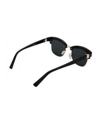 Sunglasses-Instant Stud Crush Black Clubmaster Sunglasses4