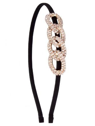 Hair Accessories-Interlocked In Diamonds Hairband1
