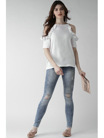 Denims Jeggings and Leggings-Keep The Shreds Denims3