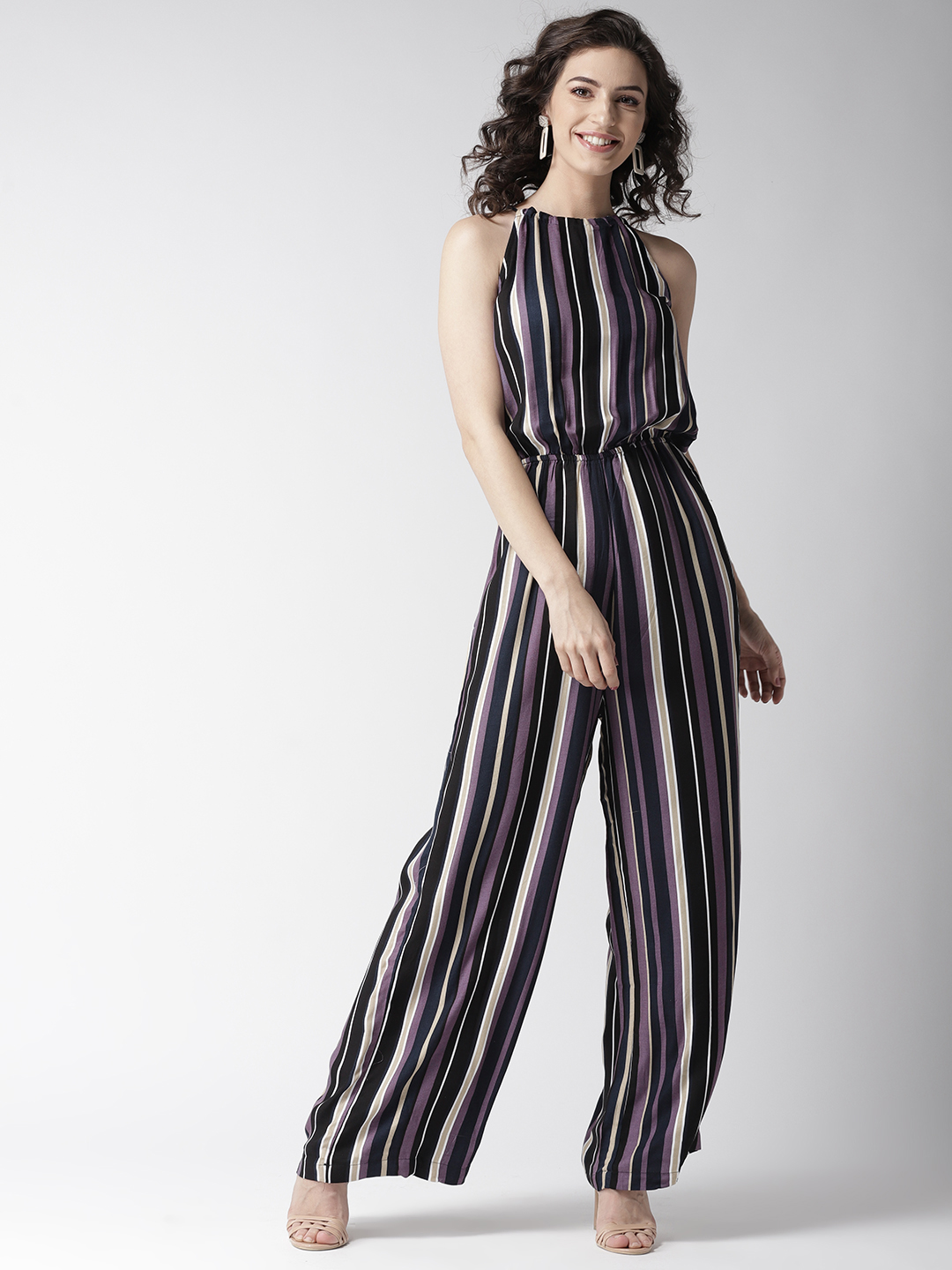 Jumpsuits-Living On The Line Stripe Jumpsuit1