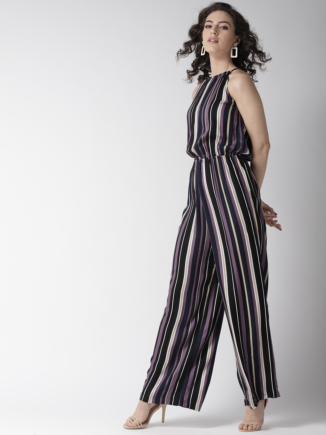 Jumpsuits-Living On The Line Stripe Jumpsuit2