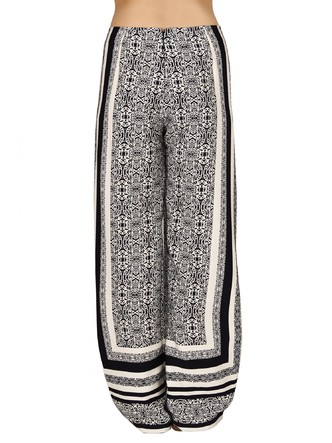 Pants and Palazzos-Monochrome In Kaleidoscope Pants2