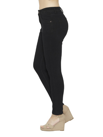 Denims Jeggings and Leggings-My Classic Black High Waist Denim2
