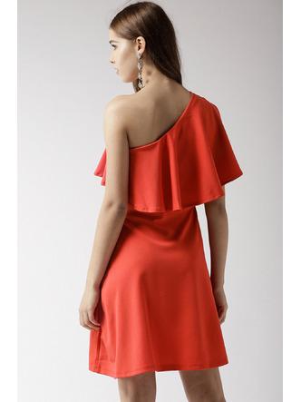 Dresses-Orange Where Is My Love Dress5