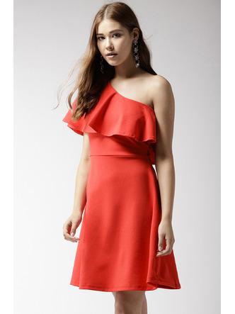 Dresses-Orange Where Is My Love Dress3