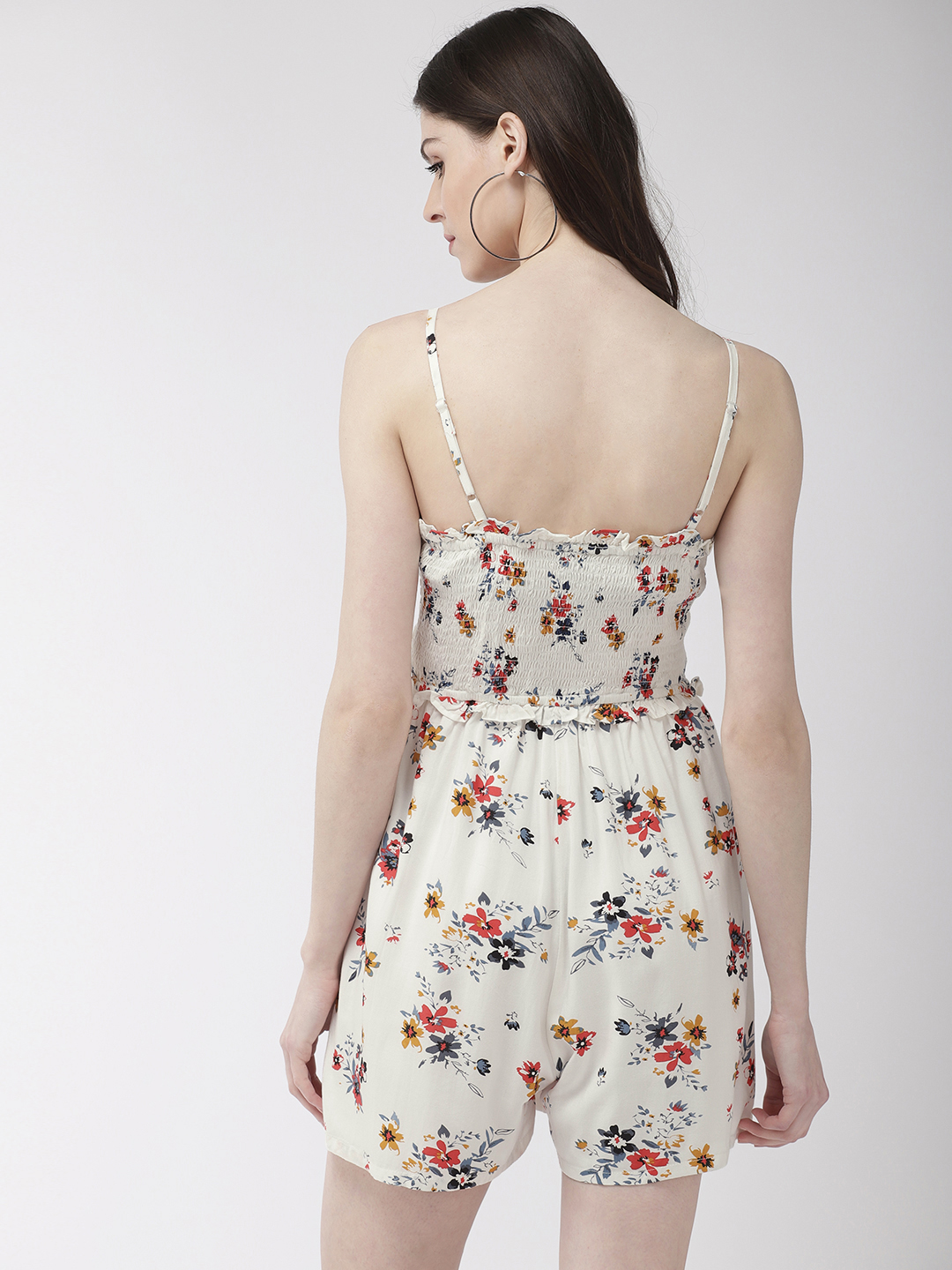 Jumpsuits-Pretty Enchanting In The Florals Playsuit3