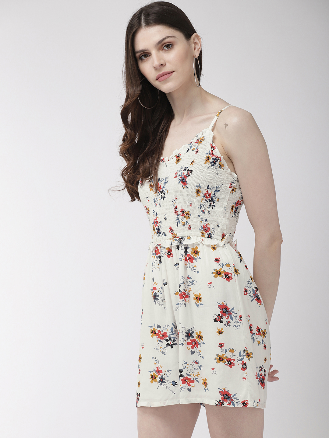 Jumpsuits-Pretty Enchanting In The Florals Playsuit4
