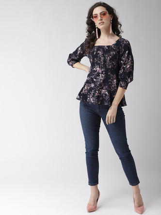 Tops-Pretty Girl Moves Floral Top4