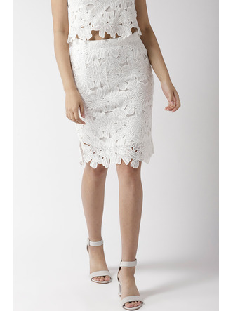 Shorts and Skirts-Pretty Little Lace Skirt 1