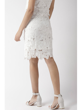 Shorts and Skirts-Pretty Little Lace Skirt 4