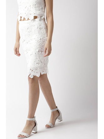 Shorts and Skirts-Pretty Little Lace Skirt 6
