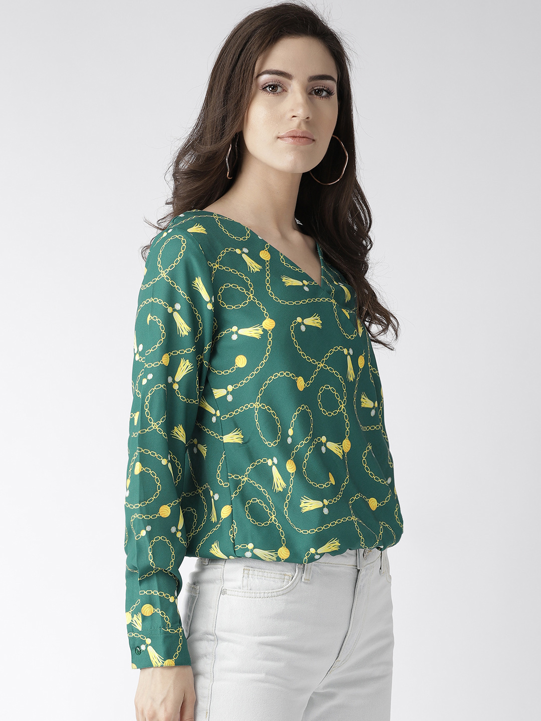 Tops-Prints On My Mind Wrap Top6