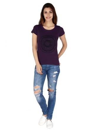 T-Shirts-Purple Sun And The Moon Tee2