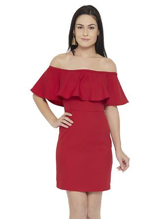 Dresses-Red Sit Still Look Pretty Dress1