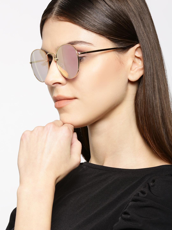 Sunglasses-Blushing Pink Reflective Sunglasses5