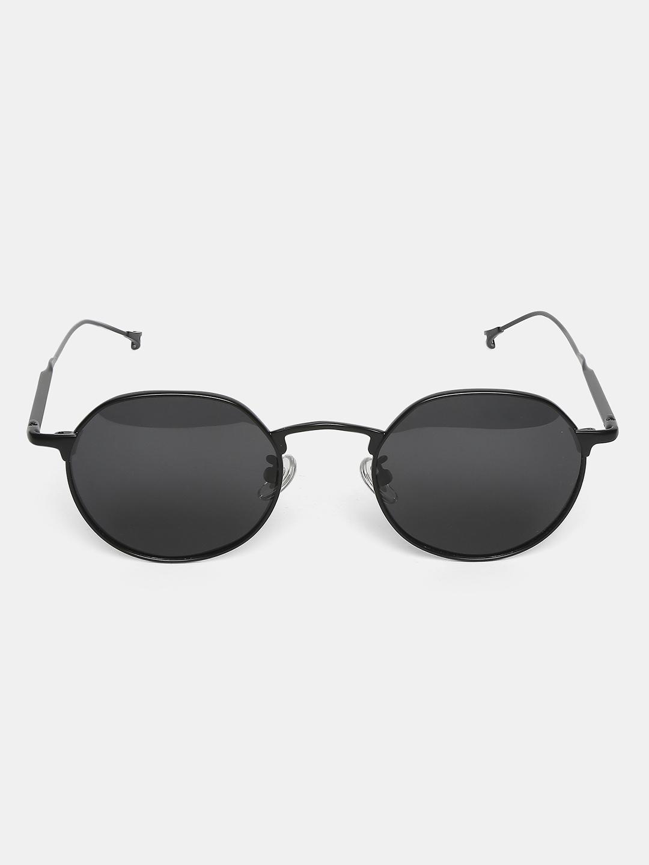 Sunglasses-Black Something In Summer Air Sunglasses2