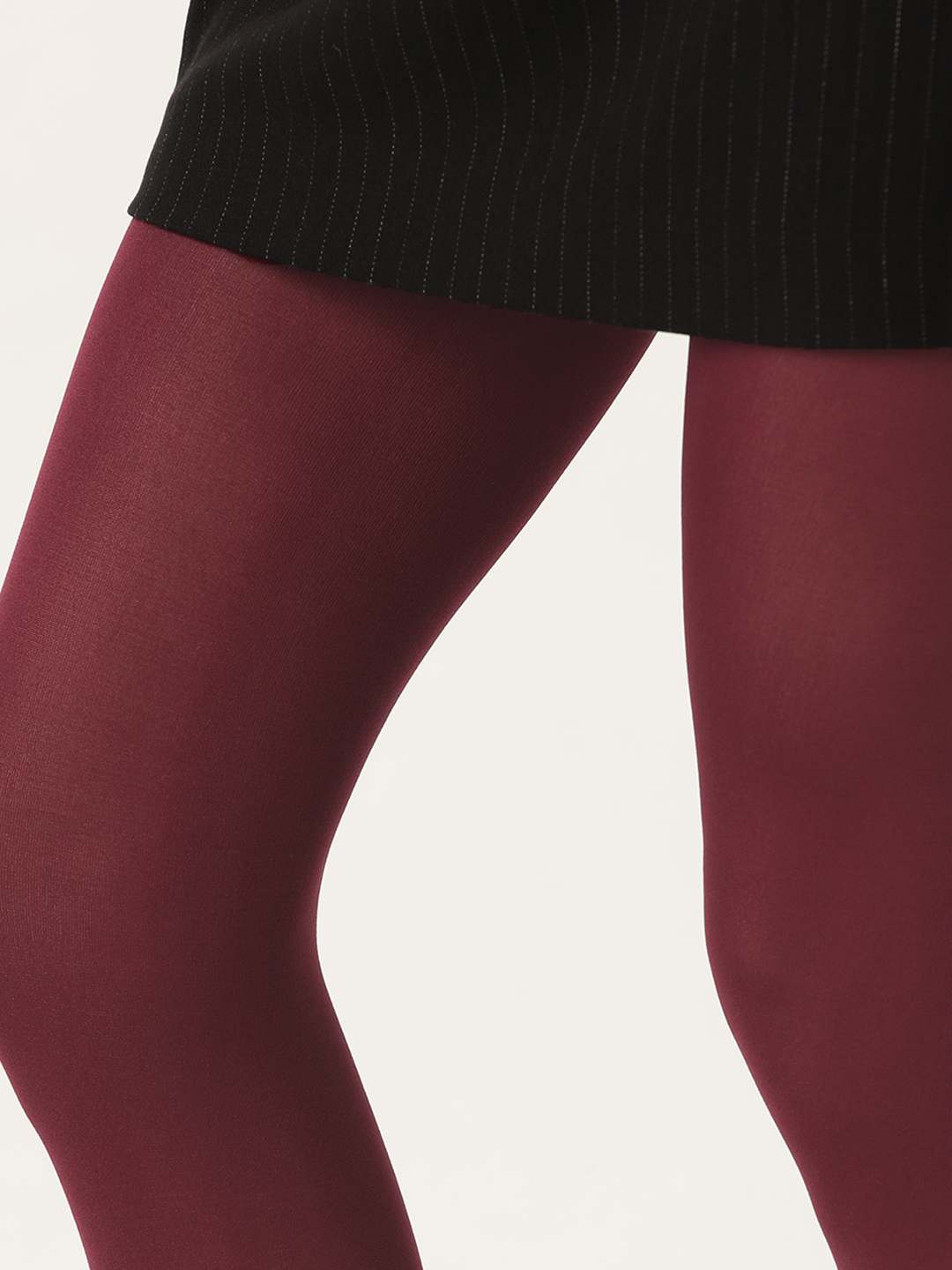 Stockings-It Is Sheer Madness Maroon Stockings5