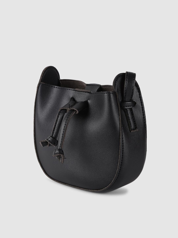 Slings-Chic To Chic Black Bucket Bag2